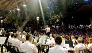 Conciertos de verano en el Parque de España